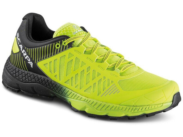 Scarpa Spin Ultra Schoenen Heren, acid lime/black
